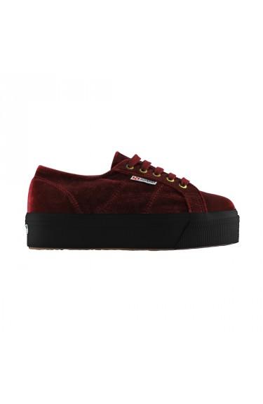 2790 Velvet  Dark Red/Black